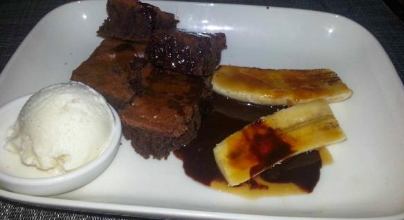 Brownie Dessert at Vessel