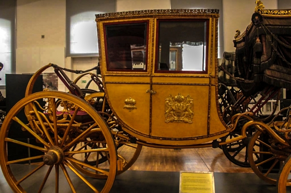 Carriage, Schonbrunn Palace, Vienna, Austria