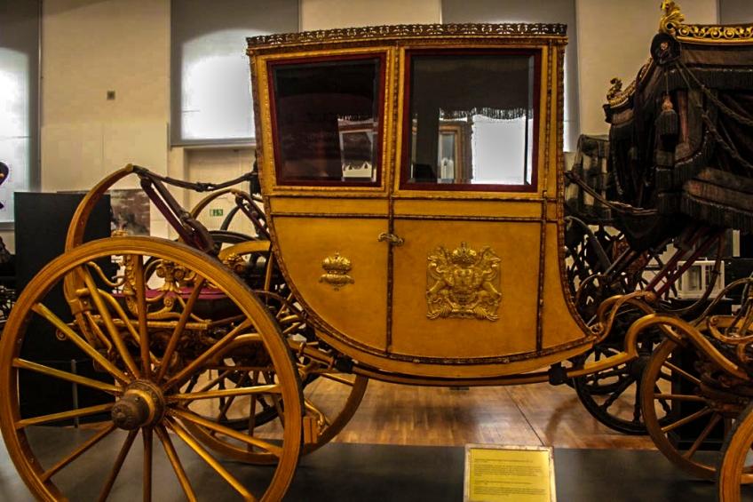Carriage, Schonbrunn Palace, Vienna, Austria