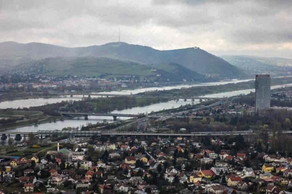 Donauturm View, Vienna, Austria