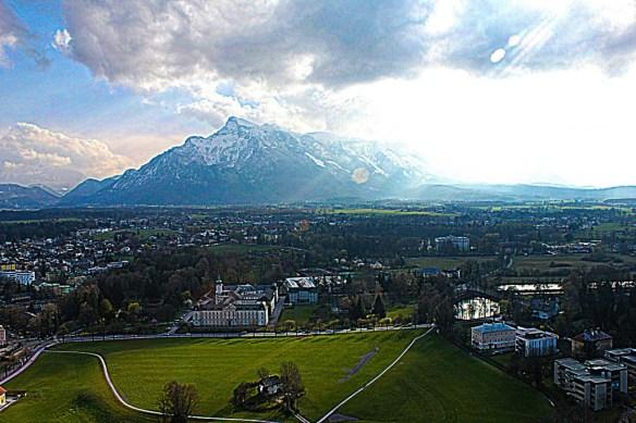 Mountain view from Hohensalzburg Fortress, Salzburg
