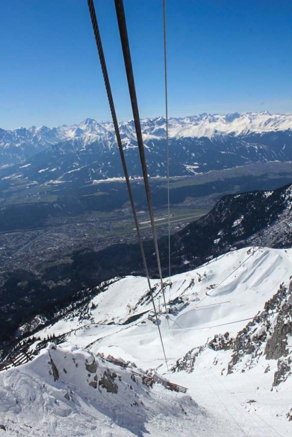 Cable Lift on Nordkette, Innsbruck