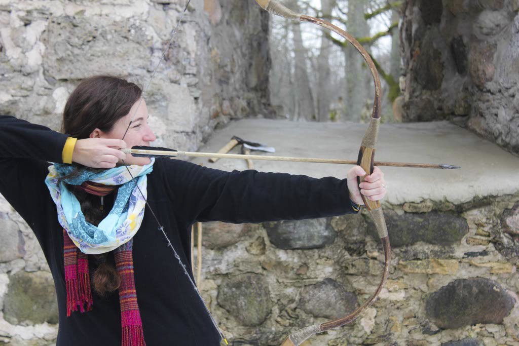 Archery at Sigulda Castle