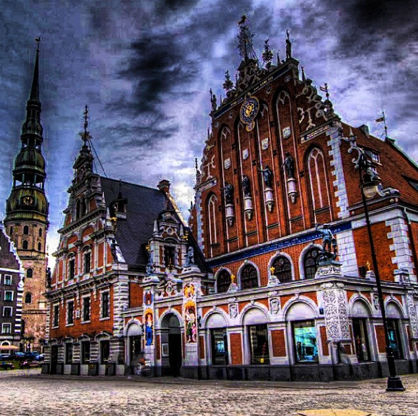 The House of Blackheads, Riga, Lativa