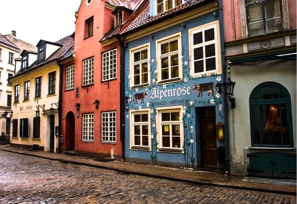 Old Town, Riga, Latvia