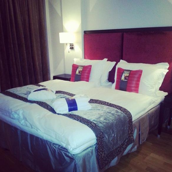 Radisson Blu Hotel Room, Riga, Latvia