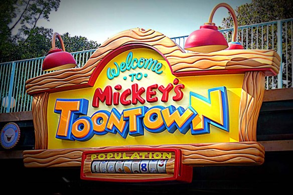Mickey's Toontown, Disneyland