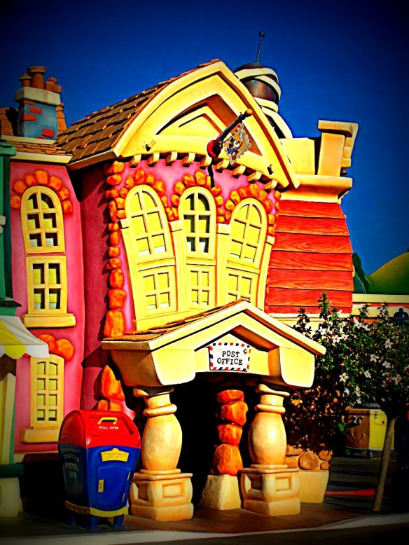 Toontown Building, Disneyland