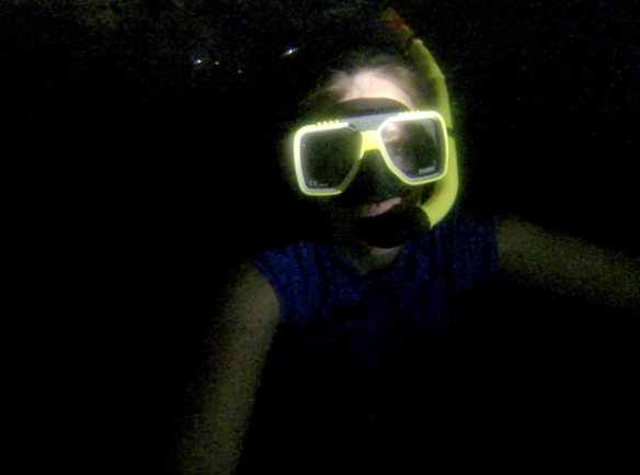 Cave Snorkeling with Flow
