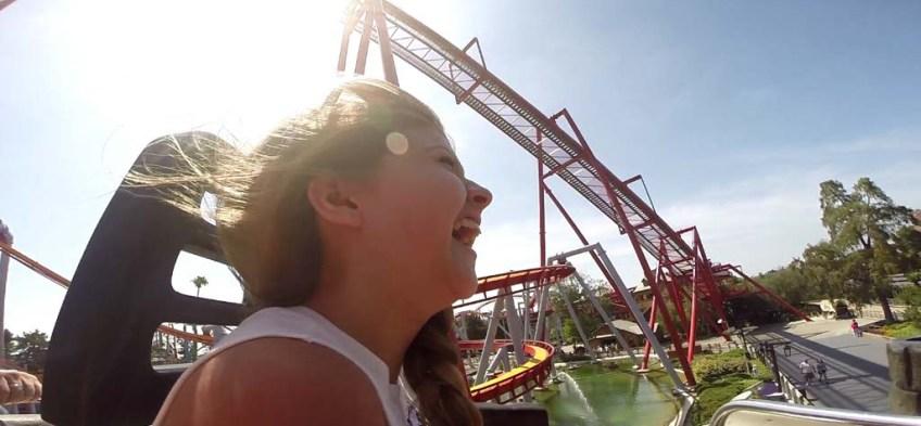 Knott's Berry Farm - Roller Coaster Ride