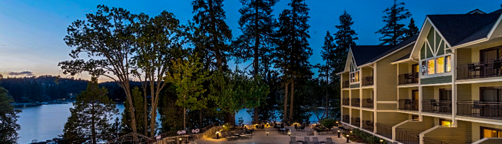 Lake Arrowhead Resort at Night