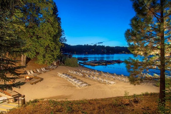 Lake Arrowhead Resort Beach