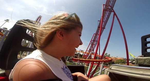 Knott's Berry Farm Rollercoaster