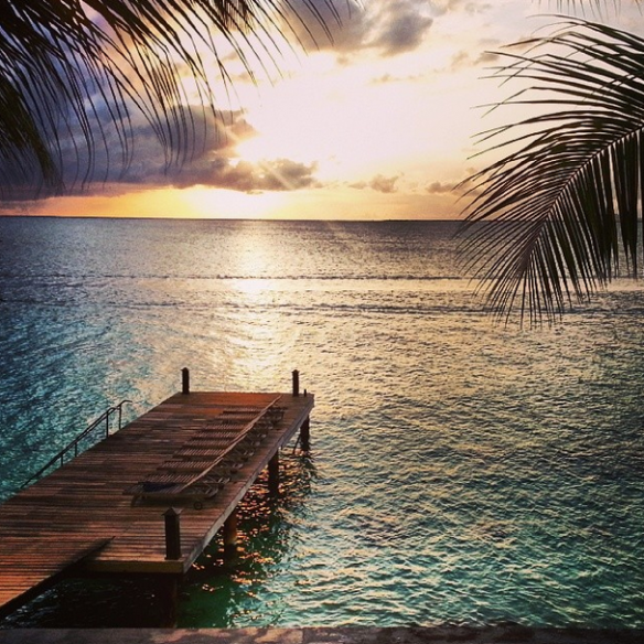 Sunset at Bellafonte Bonaire