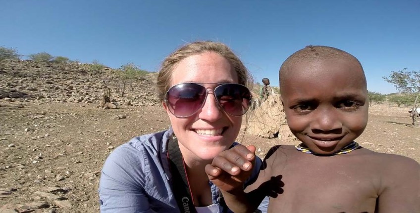 Hanging with the Himba Children, Namibia