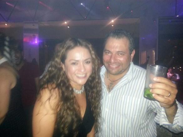 Dancing Couple at Heaven Bar