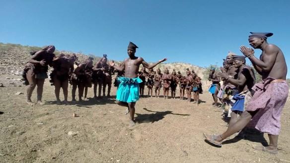 Himba Dancing, Namibia