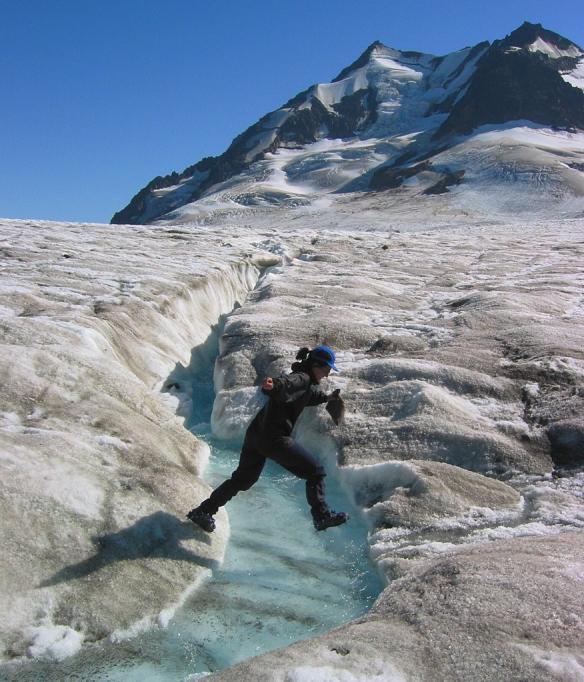 Trek Alaska Jumping Ice