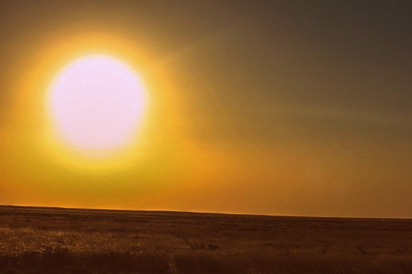 Sunset Etosha National Park