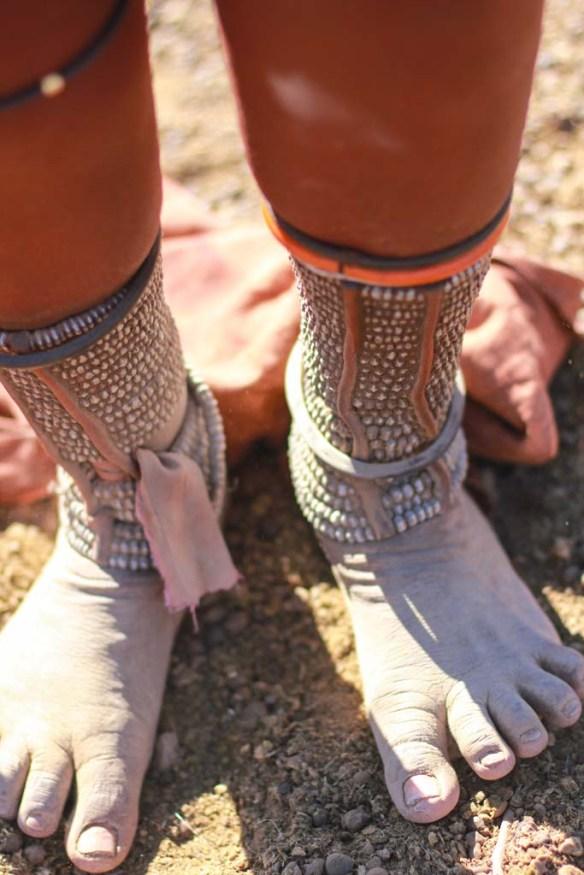 Himba Feet, Namibia