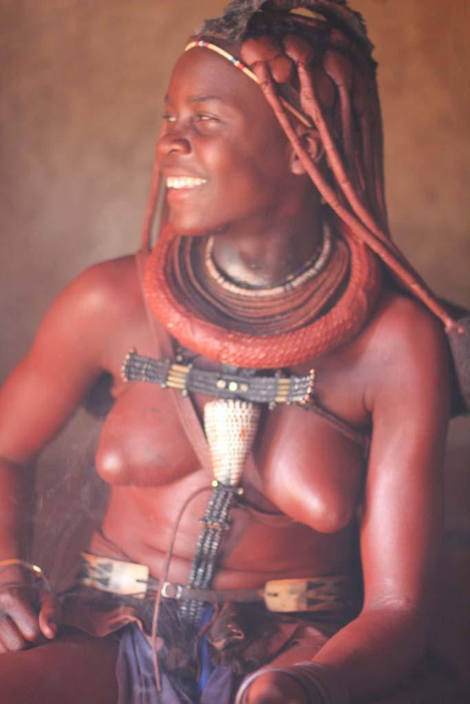 Himba Lady, Age 16, Namibia
