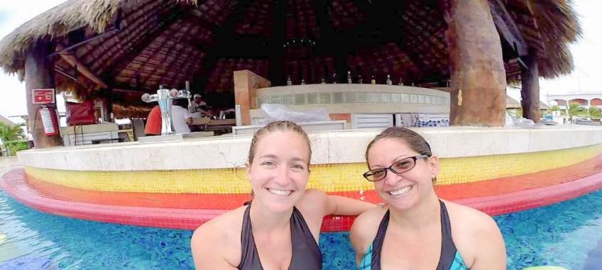 Jen and I at Hard Rock Riviera Maya