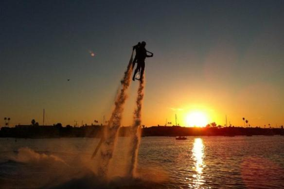 Jetpack America Flight, Newport Beach, California