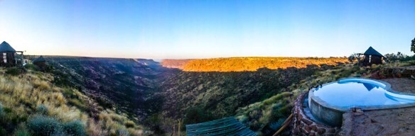 Grootberg Lodge View, Namibia