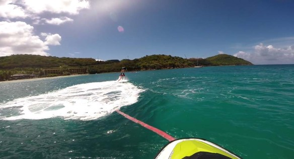 St. Thomas Flyboarding Dive
