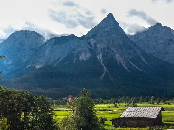 Mountain View from the Train, Germany