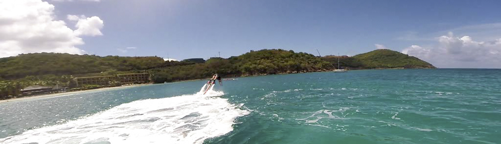 Flyboarding in St. Thomas, USVI