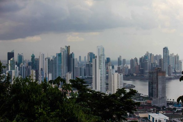 Panama City View from Above