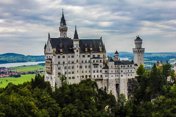 Neuschwanstein-Castle, Germany