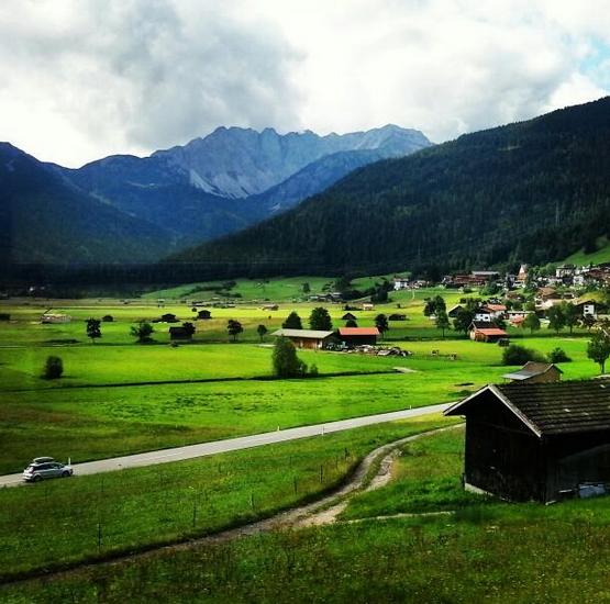 Train ride from Garmisch Partenkirchen to Fussen