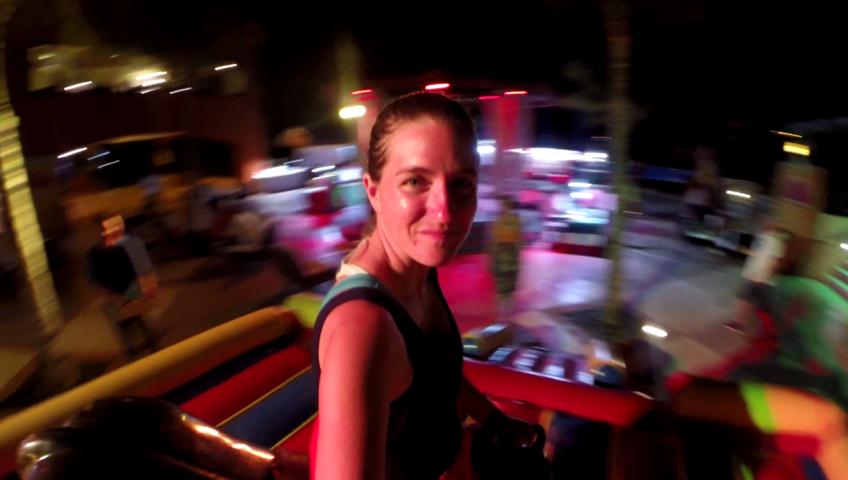 Bull Riding at Club Med Cancun