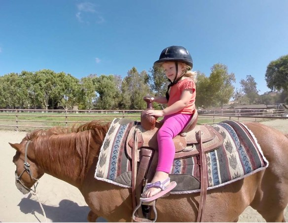 Riding a Horse at Alisal Guest Ranch