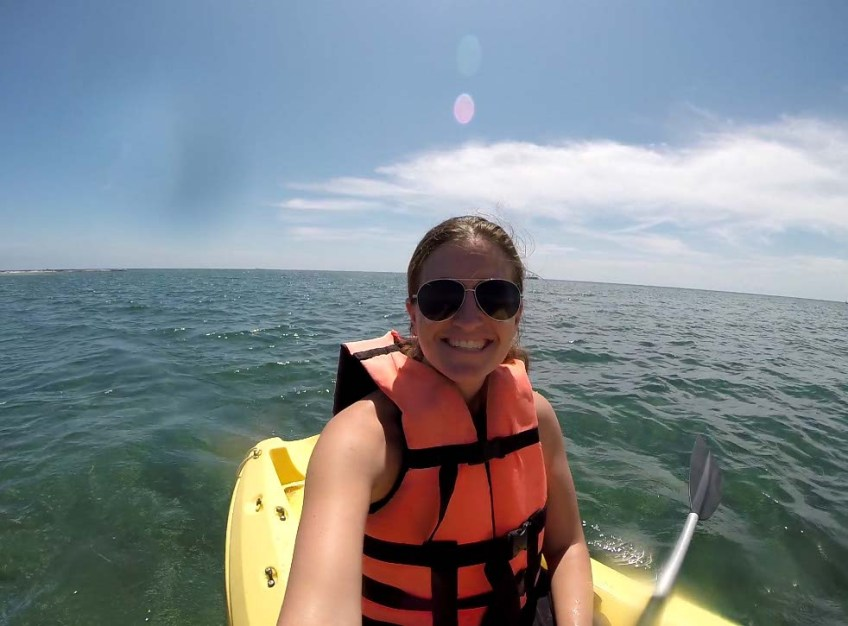 Kayaking Club Med Cancun