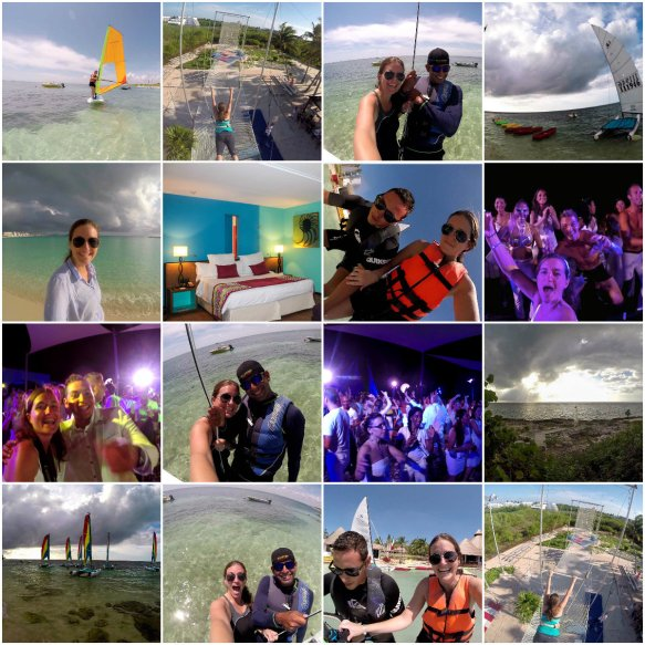 One Day at Club Med Cancun Collage