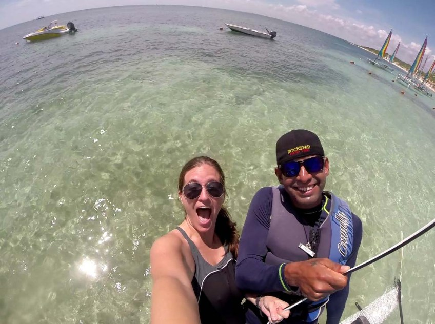 Catamaran Sailing at Club Med Cancun