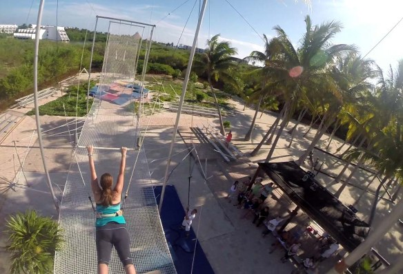Trapeze at Club Med Cancun
