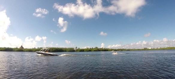 Water Skiing at Club Med