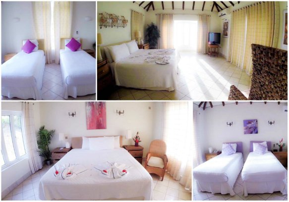 Bedrooms at Windjammer Landing Villa