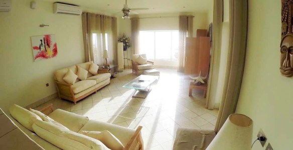 Livingroom at Windjammer Landing Villa
