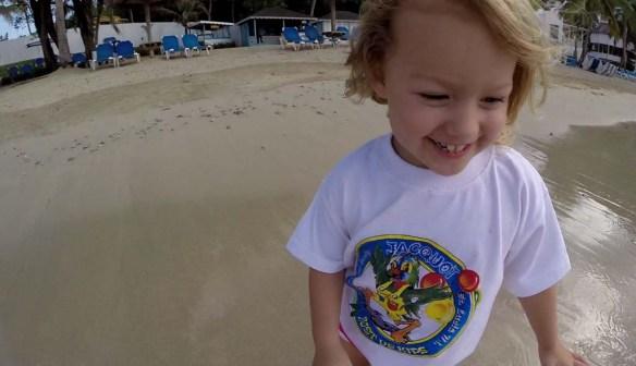 Windjammer Landing Beach Day
