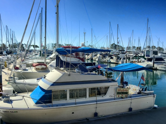 Dana Point Harbor Boats