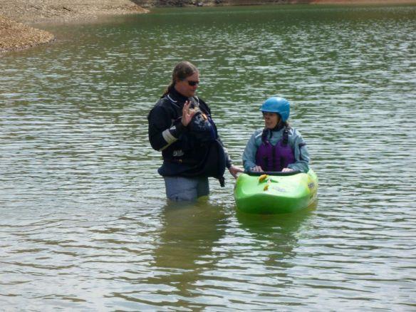 White Water Kayaking Solo