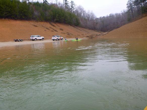 White Water Kayaking Lake