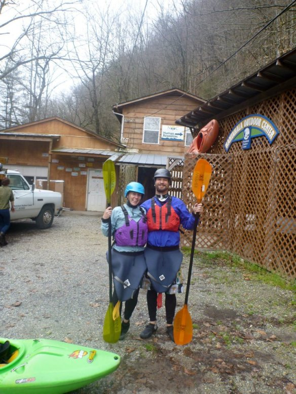 White Water Kayaking Gear