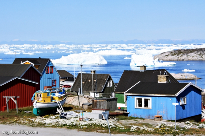 Arctic neighbourhood. Ilulissat is Greenland's third-largest settlement.