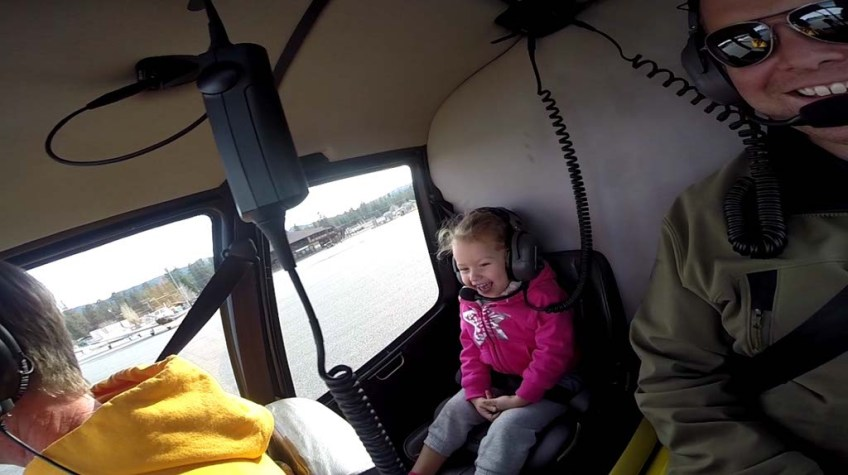 Helicopter Flight, Big Bear